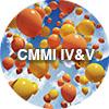 "Balloons behind ""CMMI IV&V"""